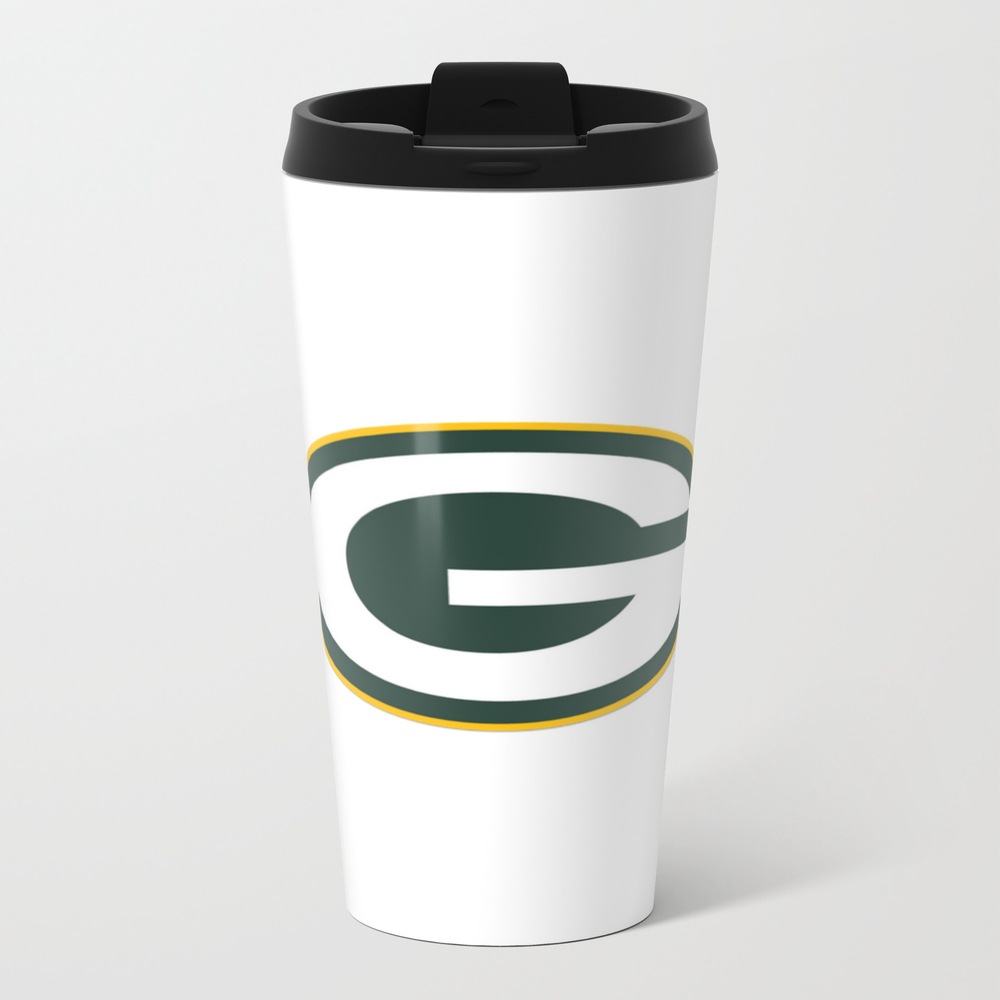 Packers Logo Of Green Bay Metal Travel Mug by Higraphicdesigns MTM7873585