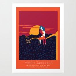 Found In Translation - Aware Art Print