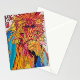 2016: Year of the Monkey Stationery Cards