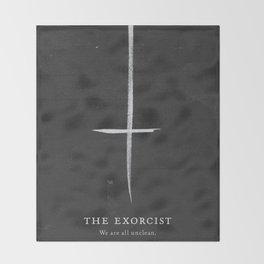 The Exorcist Throw Blanket