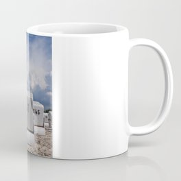 the red beach chair Coffee Mug