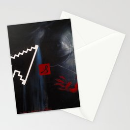 """""""Mutilated Pixels""""                Stationery Cards"""