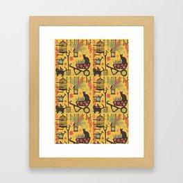 intrepid gardeners Framed Art Print