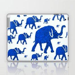 ELEPHANT BLUE MARCH Laptop & iPad Skin