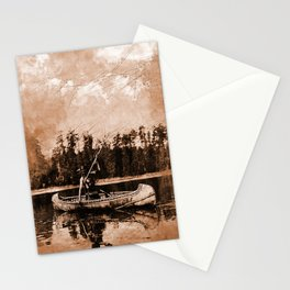 Spearfishing Stationery Cards