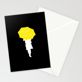 Wait for it - black Stationery Cards