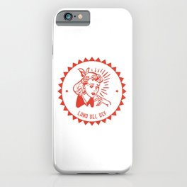 Del Rey iPhone Case
