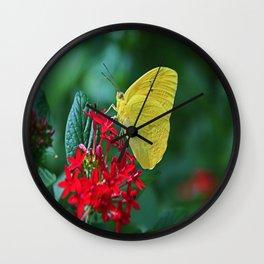 Winter Interlude Wall Clock