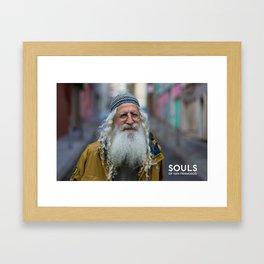 Souls of San Francisco - Yahweh Framed Art Print