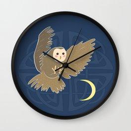 The owl moon Wall Clock