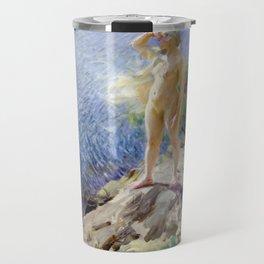 Anders Zorn In the Skerries Travel Mug