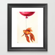 Dream About Flying Framed Art Print