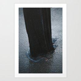 a sad pillar Art Print