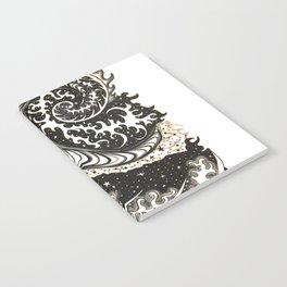 Fibonacci Swirl  Notebook
