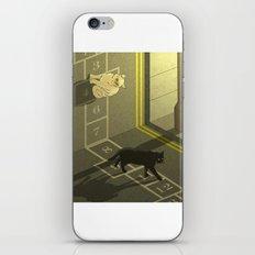 Cat Hopscotch  iPhone Skin