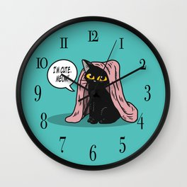 I am cute Wall Clock