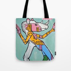 Rhino Girl by Amos Duggan 2013 Tote Bag