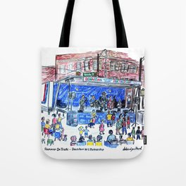 Summer Music On Trade Tote Bag