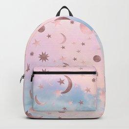 Pastel Starry Sky Moon Dream #2 #decor #art #society6 Backpack