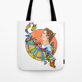 For Me This Is Heaven Tote Bag