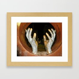Hands of Spain Framed Art Print