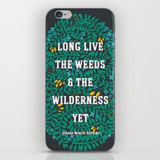 Weeds and Wilderness iPhone & iPod Skin