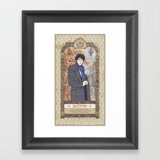 Sherlock Victorian Language of Flowers - Autumn Framed Art Print
