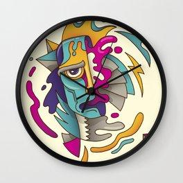 Abstarct Monsta Wall Clock