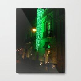 Green Cascade Metal Print