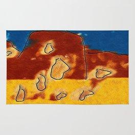 The landslide Rug