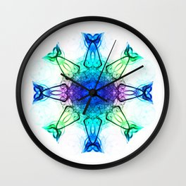 Tiptoe through the tulips 3 Wall Clock