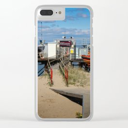 River Wyre Launching Facility - Fleetwood - England Clear iPhone Case