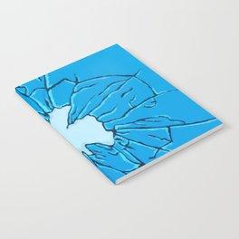 Broken glass Notebook