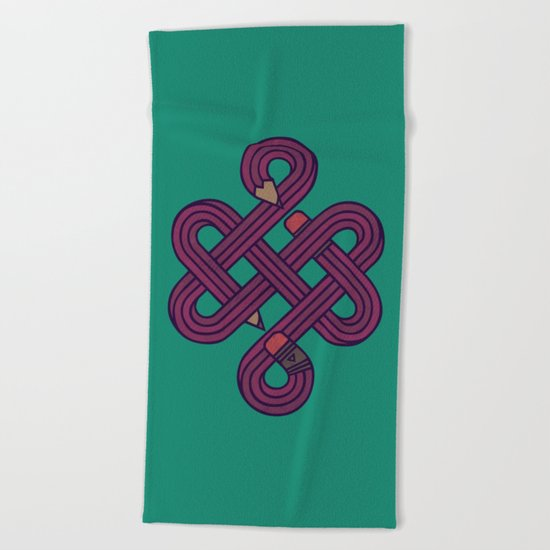 Endless Creativity Beach Towel