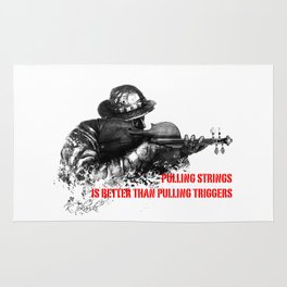 Violin Sniper Rug