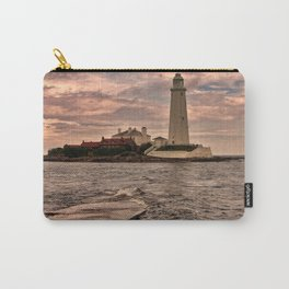 St Mary's Lighthouse Carry-All Pouch
