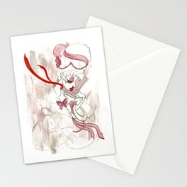 Rose de Charme Stationery Cards