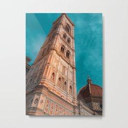St Marie of Flowers basilica firenze 2 Metal Print