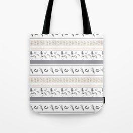 Lineal Bunnies Tote Bag