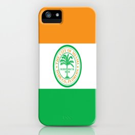 American cities-  Flag of Miami iPhone Case