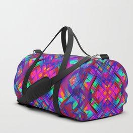 Colorful digital art splashing G483 Duffle Bag