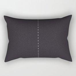 Road Two lanes Rectangular Pillow