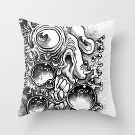 Billy & Bobby Buble Throw Pillow