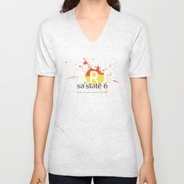S6-Tee_artefacts_color_1 Unisex V-Neck