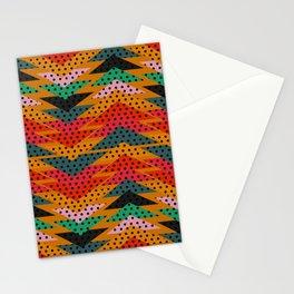 Spotty triangles Stationery Cards