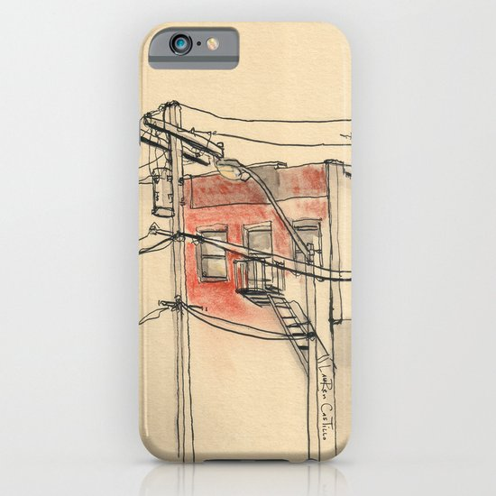 Wires iPhone & iPod Case