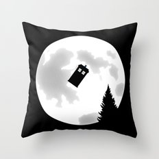 Dr Phone Home Throw Pillow