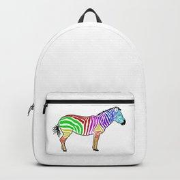 The Fascinating Zebra Backpack
