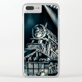 Runaway Train - Graphic 2 Clear iPhone Case