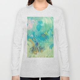 Green Swells Long Sleeve T-shirt